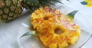 Ricetta ananas al forno con miele e cannella👌💕