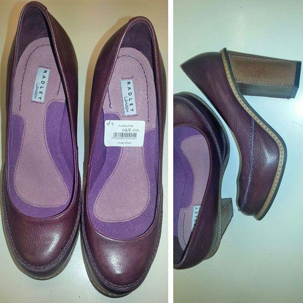 Radley shoes in excellent condition. Size 36, €45 at Oxfam Rathfarnham. https://www.oxfamireland.org/shop/oxfam-rathfarnham