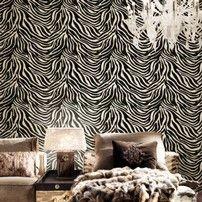 Zebra bianca e nera