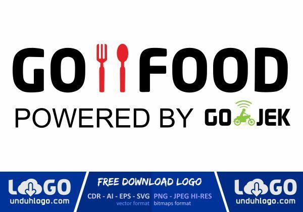 Logo Gofood Format Vector Desain Grafis Makanan Grafis