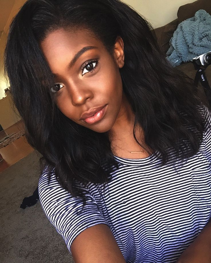 Diy Hair Black Girl Makeup Girls Women Goals Magic Straight