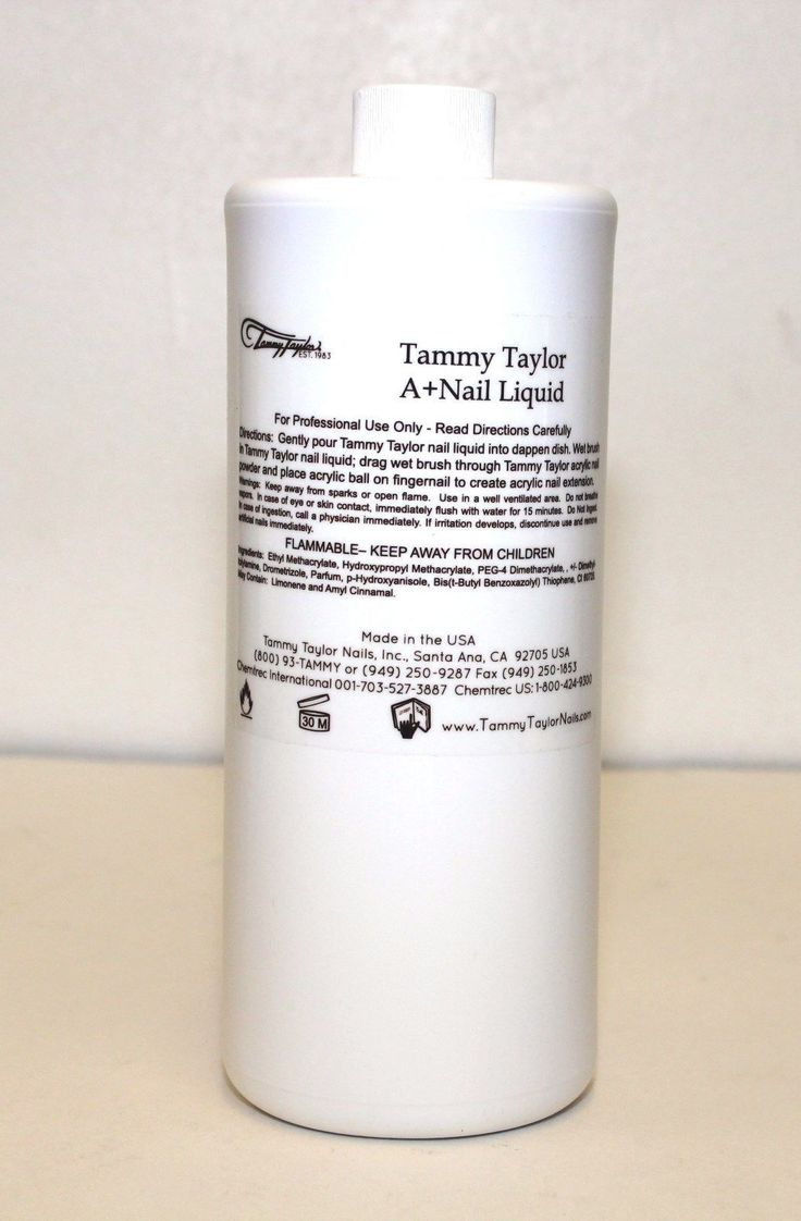 Acrylic Powders and Liquids: Tammy Taylor- A+ Nail Liquid 32Oz - Monomer BUY IT NOW ONLY: $84.0