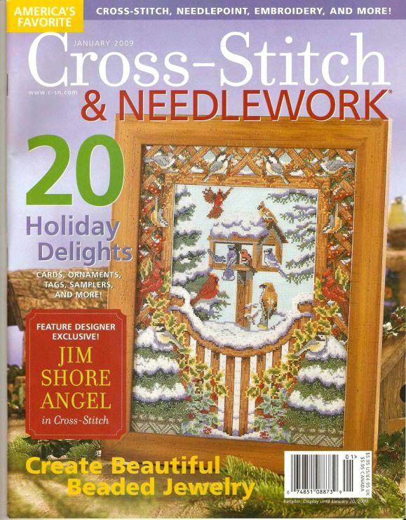 Cross stitch & needlework magazines Gallery.ru / Фото #1 - 41 - ZinaidaR