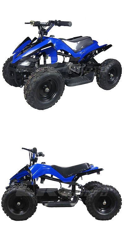 Complete Go-Karts and Frames 64656: New Electric Kids Atv 4 Wheeler Mars 24V 350W 2 Speeds Blue -> BUY IT NOW ONLY: $559.99 on eBay!