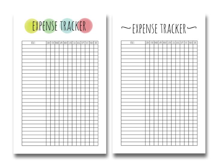 Best 25+ Expense tracker ideas on Pinterest Bullet journal - expense report form