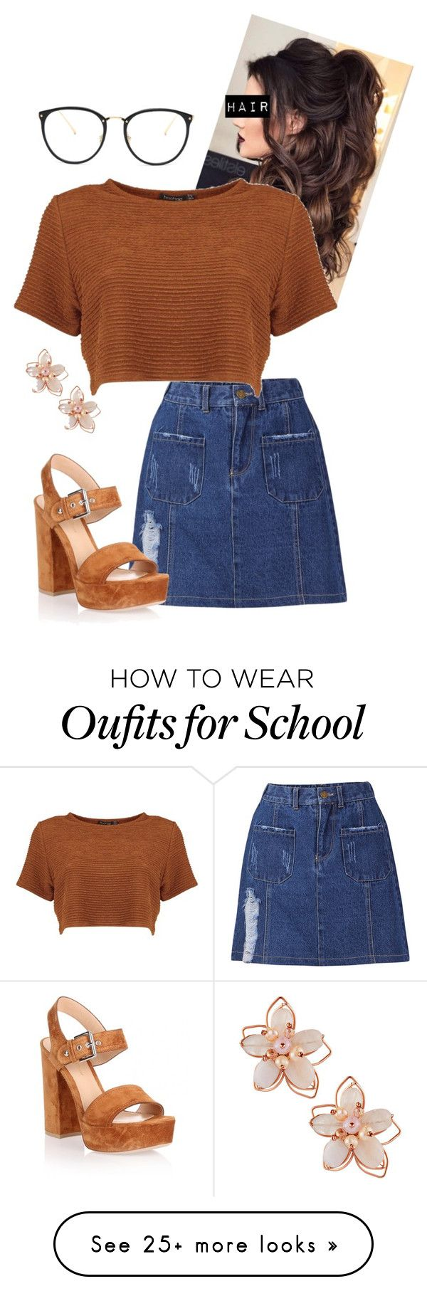 """#OOTD"" by elleries on Polyvore featuring Linda Farrow, Gianvito Rossi and NAKAMOL"