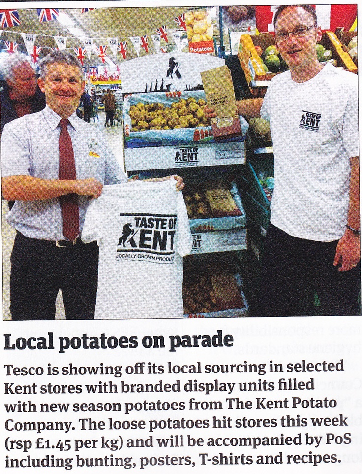 Tesco sourcing communication (from The Grocer_7/7/12)