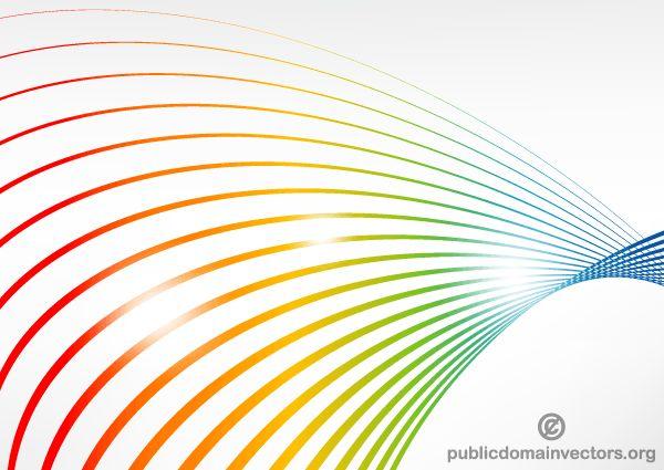 Vector Color Lines Background Design
