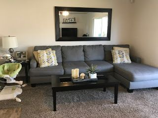 Mirror Above Couch Decor