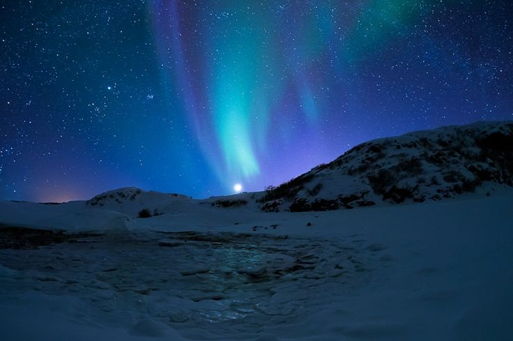 Aurora Boreale, Kolvik - Norvegia, Foto Norseman