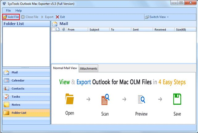 The software OLM to PST for Windows 8 edition has been planned accordingly in such a way so that the users not even once feel composite while executing the Conversion OLM PST with EML, MSG...