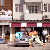 """Street Fighter 2"" como argumento para vender seguro de carro"