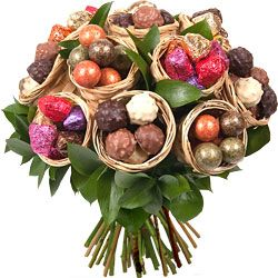 bouquet de fleurs en chocolat jeff de bruges - Αναζήτηση Google
