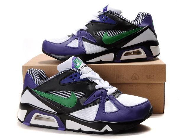 07b62e556fb0 59Yyh Mens Nike Air Max 91 White Purple Black Green Shoes