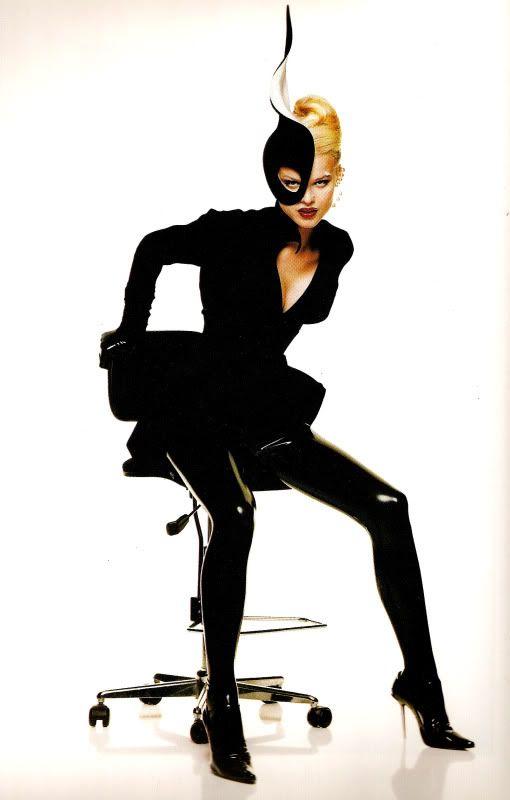 Thierry Mugler, circa 1990's Model: Eva Herzigová