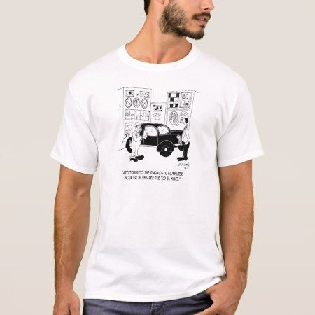 Mechanic Cartoon 6768 T-Shirt - click/tap to personalize and buy