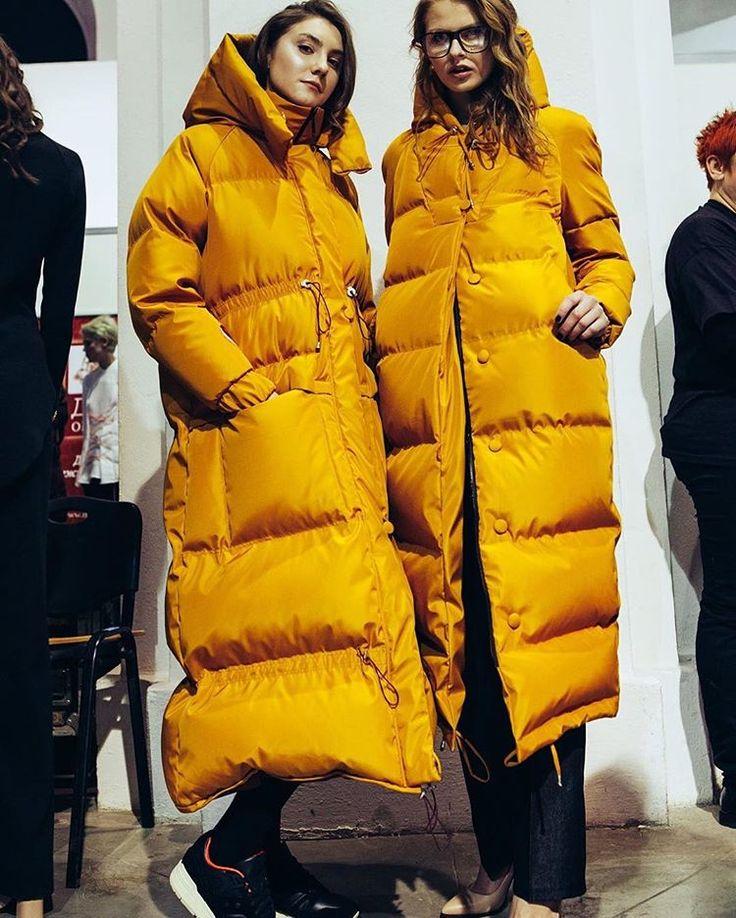Что будем носить следующей зимой?! #marchi #fashionshow #downcoat #coat #пуховик #пуховики