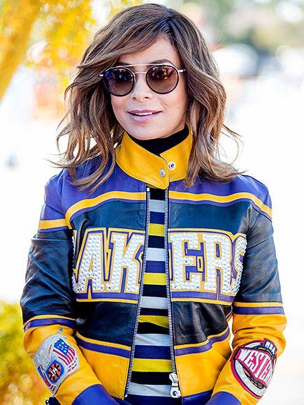 Star Tracks: Friday, January 1, 2016 | LAKERS GIRL | Paula Abdul wore a Lakers jacket at the Rose Bowl Parade in Pasadena, California.