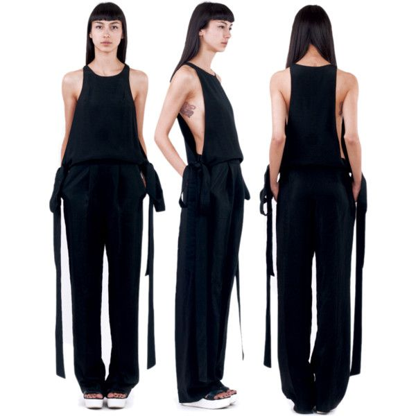Mantis Jumpsuit | Ioana Ciolacu by ioanaciolacudotcom on Polyvore
