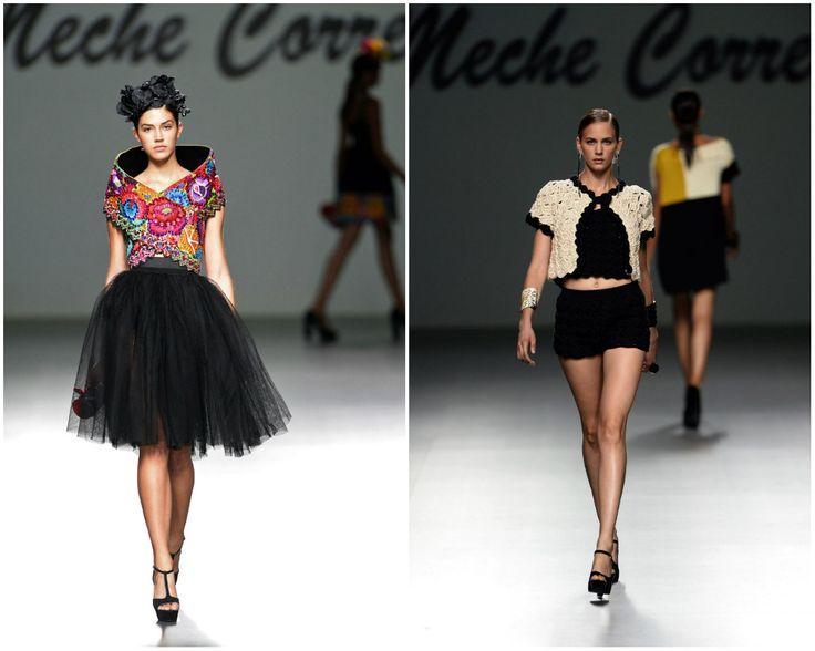 Creación de la diseñadora peruana Meche Correa, presentada en el Mercedes-Benz #Madrid #FashionWeek Fotos: Agencias #Fashion #MecheCorrea #Peru #clothing #fashionstyle #Moda