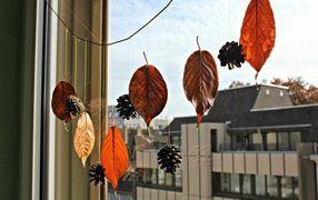 Осенние гирлянды своими руками