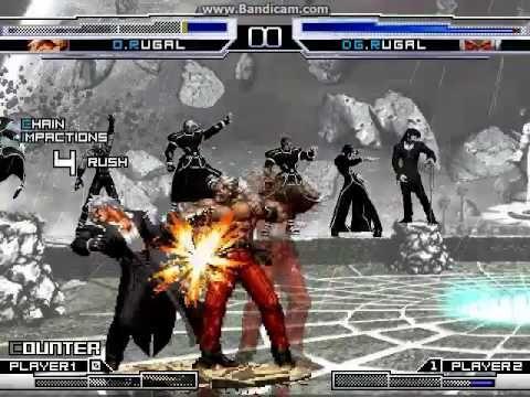 KOF WOJ ~ Omega Rugal VS Dark God Rugal