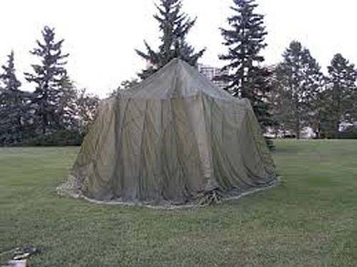EZ up tent with parachute (dye white one with bright colors) over it for kids tent!