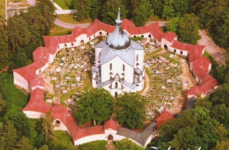 Church of St. John Nepomuk in Zdar (Czech Republic), by Jan Santini.