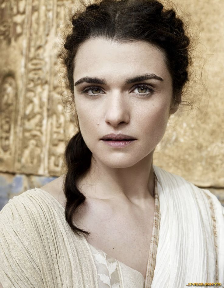 A reiteration of my pick on Bright Weavings years ago... Rachel Weisz for Jehane.