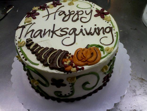 Thanksgiving cake!
