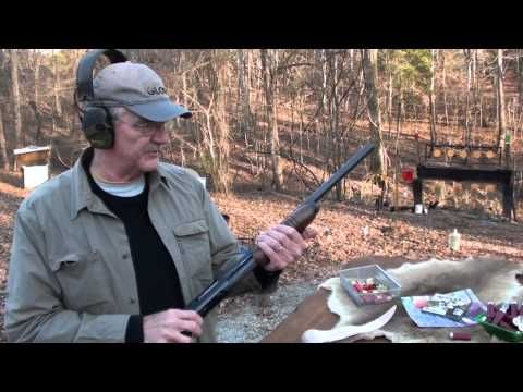 Great example of shooting a Remington 870
