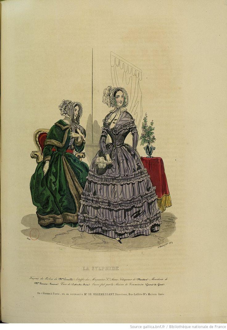 La Sylphide : journal de modes, de littérature, de théâtres et de musique | 1843 | Gallica