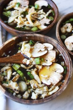 This Hibachi Soup tastes exactly like what you get at the Japanese Steakhouse. It is unbelievably easy to make, but so flavorful! Full recipe