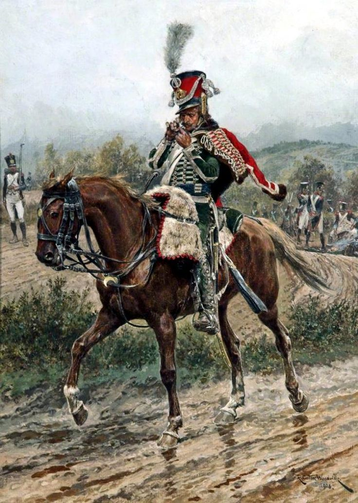 French 7th regt. Hussars