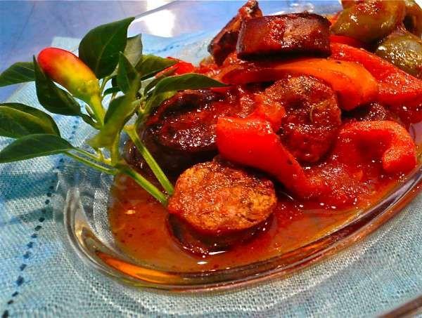 Spicy Greek Recipe for Sausage-Σπεντζοφάι!