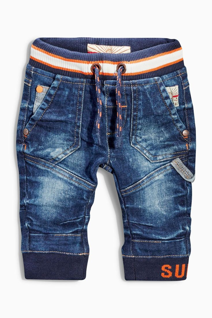Buy Mid Blue Workwear Jeans (3mths-6yrs) from the Next UK online shop