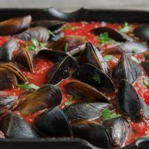 Ma recette du jour : Moules à la catalane sur Recettes.net