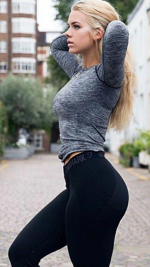 Erstaunliche große Tit Blonde Milf