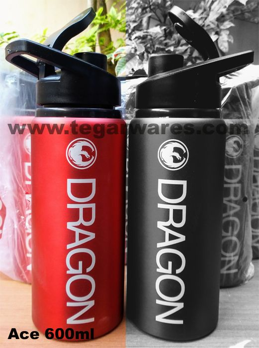 Ace tumbler 600ml is a light drinking water bottles that are perfect for pinned on your bike. Ideal to serve as merchandise for sports-themed events such as hiking, running or healthy bicycles. A right choice to be used as a product purchase gift. As shown above an Ace bottle ordered by PT. Planet Selancar Mandiri, Kuta Bali, Indonesia a holding company that handles various fashion and surfing equipment brands. Dragon is a brand of eyewear products the auspices of PT. Planet Selancar…