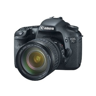 Canon EOS 7D 18 MP CMOS Digital SLR Camera with 3-inch LCD and 28-135mm f/3.5-5.6 IS USM Standard Zoom Lens $1,789.95