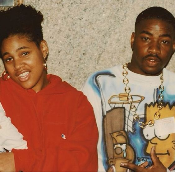 Monie Love and Lord Finesse