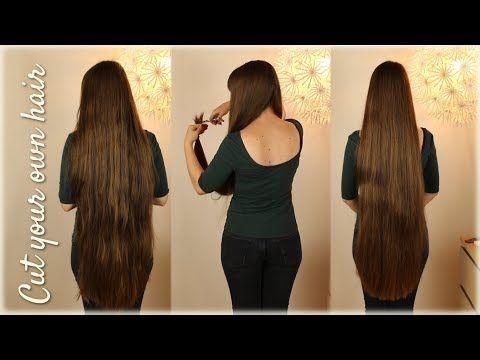 Cut your own hair – lange Haare selber schneiden | Haartraumfrisuren