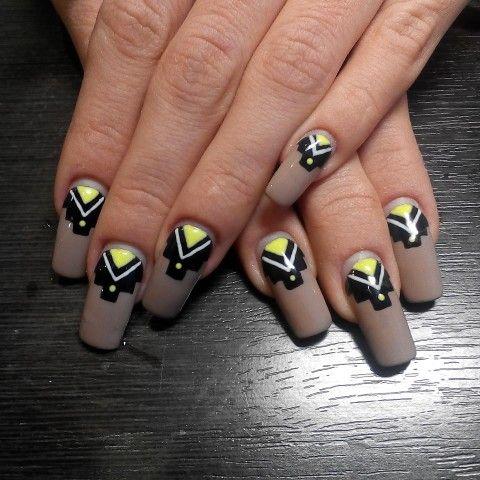 Ногти беж длинные ногти