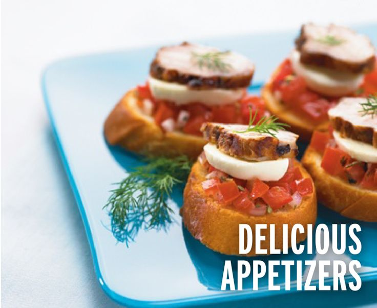 Try our delicious appetizer recipes like Porchetta Bruschetta Appetizer with Tre Stelle® Bocconcini!