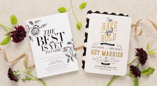 Wedding Stationery Trends | Wedding Paper Divas | Bridal Musings Wedding Blog 1