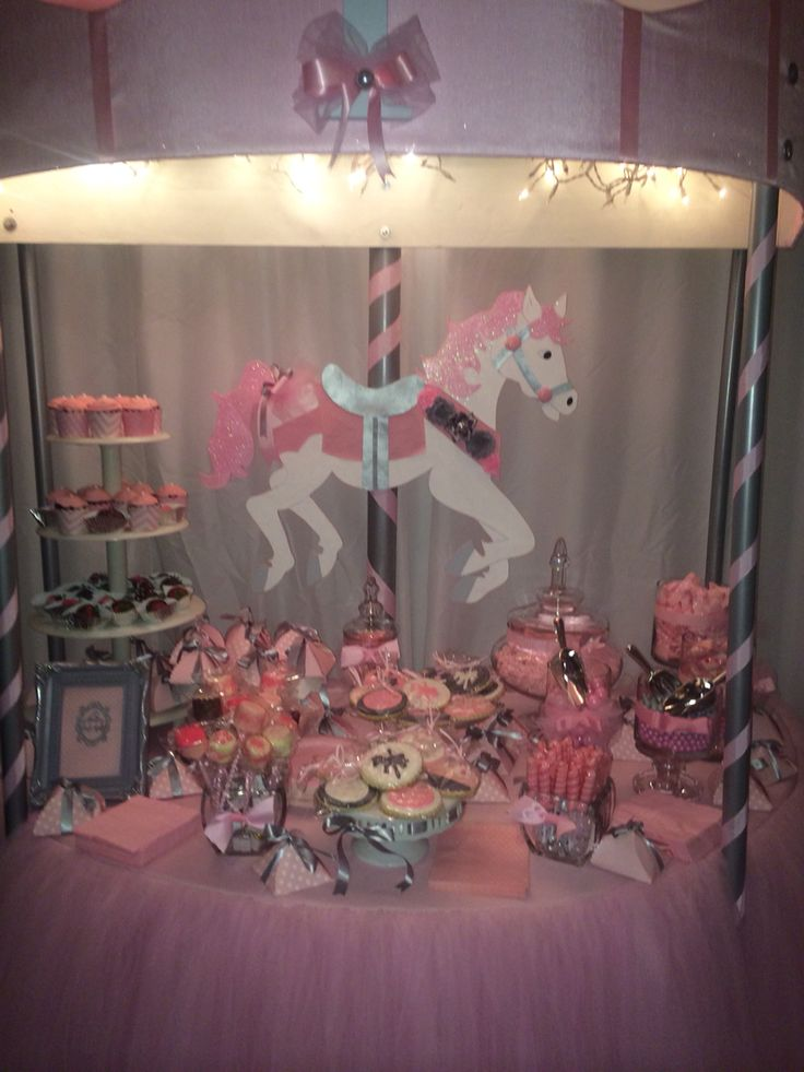 8 Best Images About Carousel Baby Shower On Pinterest