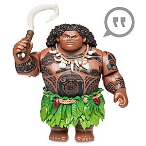 Talking Maui Action Figure - Disney Moana | Disney Store When they're ready to hit the seas for epic adventures, our detailed talking Maui action figure is the perfect guide. This legend of the sea brings a light-up fishhook, movie phrases and hidden tattoos revealed only by water.