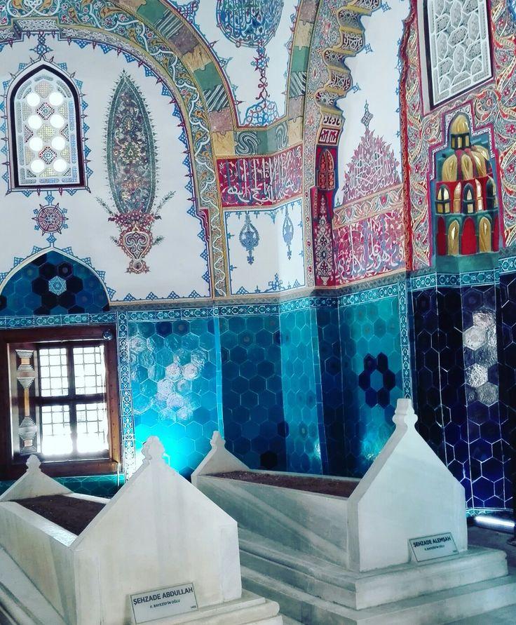 ll. Bayezid in oğlu Şehzade Abdullah Şehzade Alemşah Bursa Muradiye Külliyesi