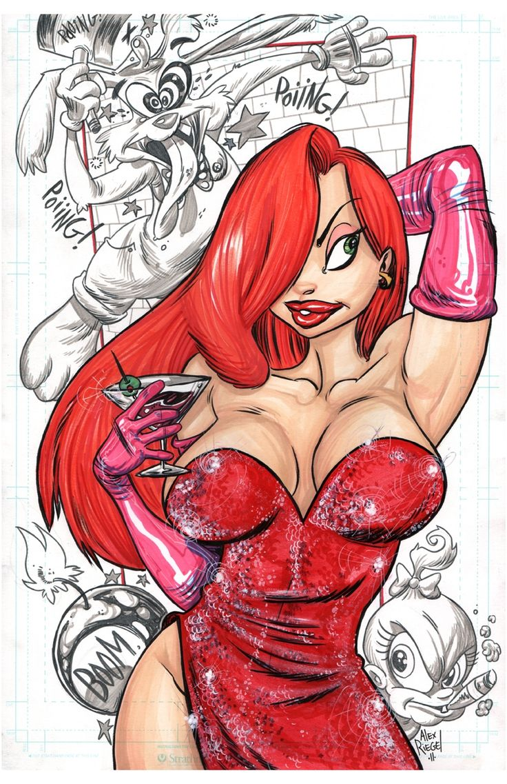 JESSICA RABBIT by....ALEX RIEGEL