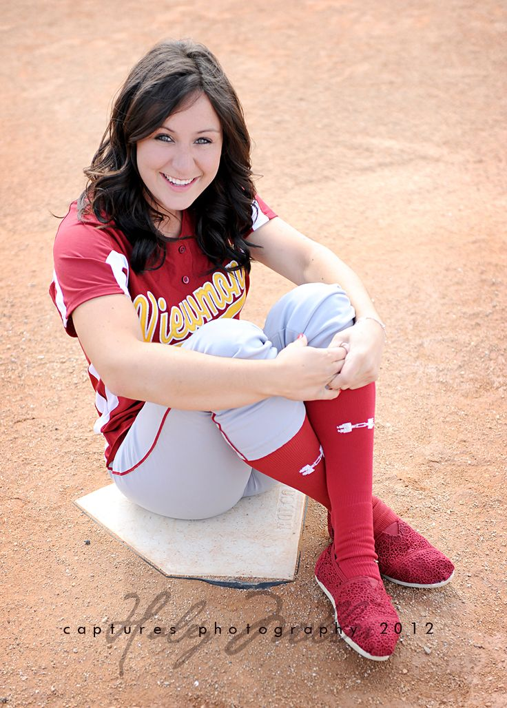 cute senior pictures. would ditch the toms for actual ball cleats but other then that i like this